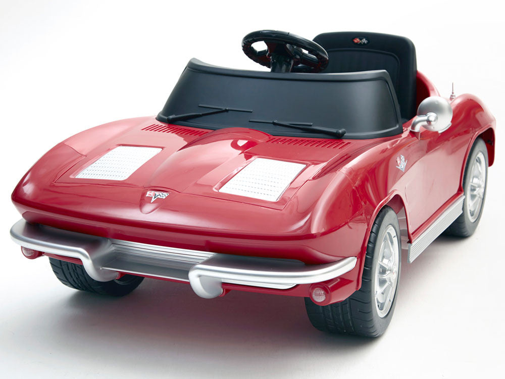 Cars For Kids >> Corvette Stingray 12 Volt Ride On Car For Kids