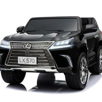 Lexus LX 570 Toddler 4WD Remote Control Ride On Car With 2 Seats and Touchscreen