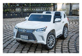Lexus LX 570 Toddler 4WD Remote Control Ride On Car With 2 Seats