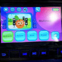 Car Tots MP4 touchscreen for toddler cars