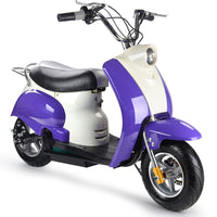 Electric 24 Volt Moped Ride On Scooter in Purple - ETA September 12th, 2020