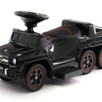 Mercedes G63 AMG 6x6 Children Electric Ride On Convertible Push and Foot to Floor Car