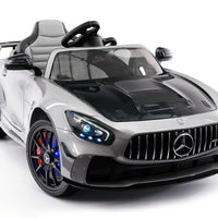 Mercedes Benz GT AMG 12V Kids Ride-On Car with Video Screen