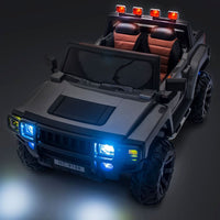 toddler ride on H2 Hummer lights
