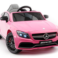 Mercedes C63S AMG for Toddlers In Pink from Car Tots