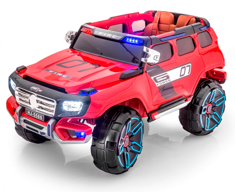 G-Force Rescue Toddler Remote Control Ride On Fire Truck
