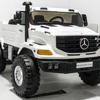 Toddler Mercedes-Benz Zetros 2 seat ride on truck with remote control