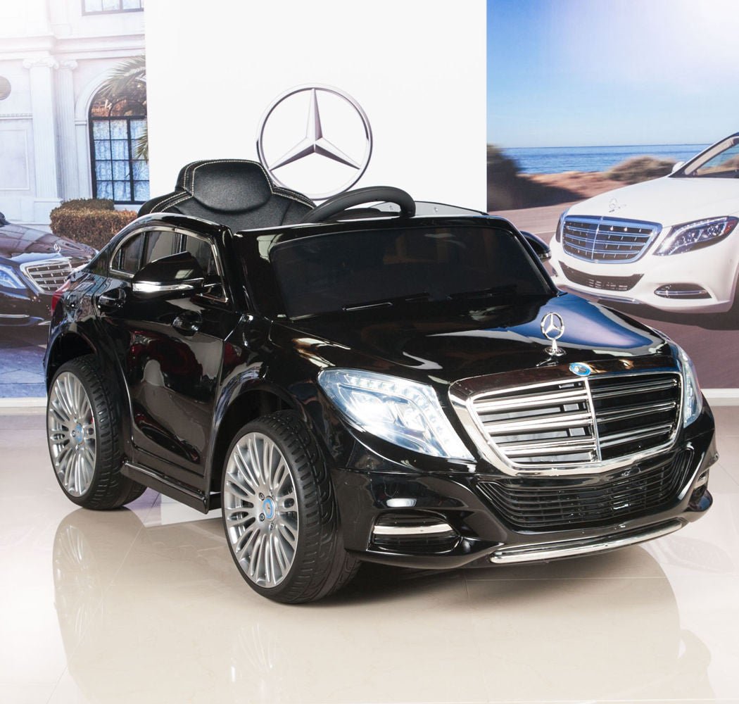 Mercedes toddler ride on s600 big flagship sedan with for Mercedes benz toddler car