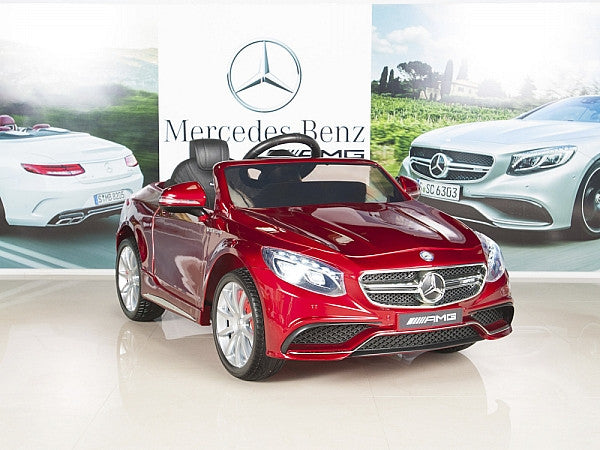 Car Tots Toddler Remote Control Ride On Mercedes-Benz S63 AMG Power Wheels