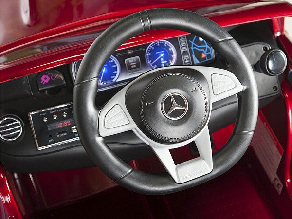 Mercedes Power Wheels >> Amg Mercedes S63 Remote Control Ride On Coupe With Rubber Tires For Toddlers