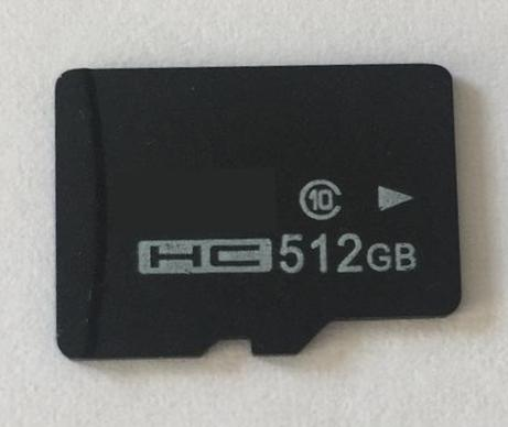 512GB Micro SD Flash Memory Card