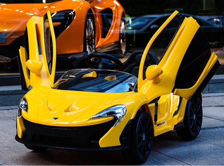 93ee446a6b44 McLaren P1 Toddler Remote Control Ride On Supercar with Dihedral Doors