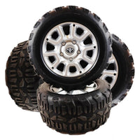 Wheels and Foam Rubber Tires for Car Tots Toyota Tundra Toddler Pickup Truck