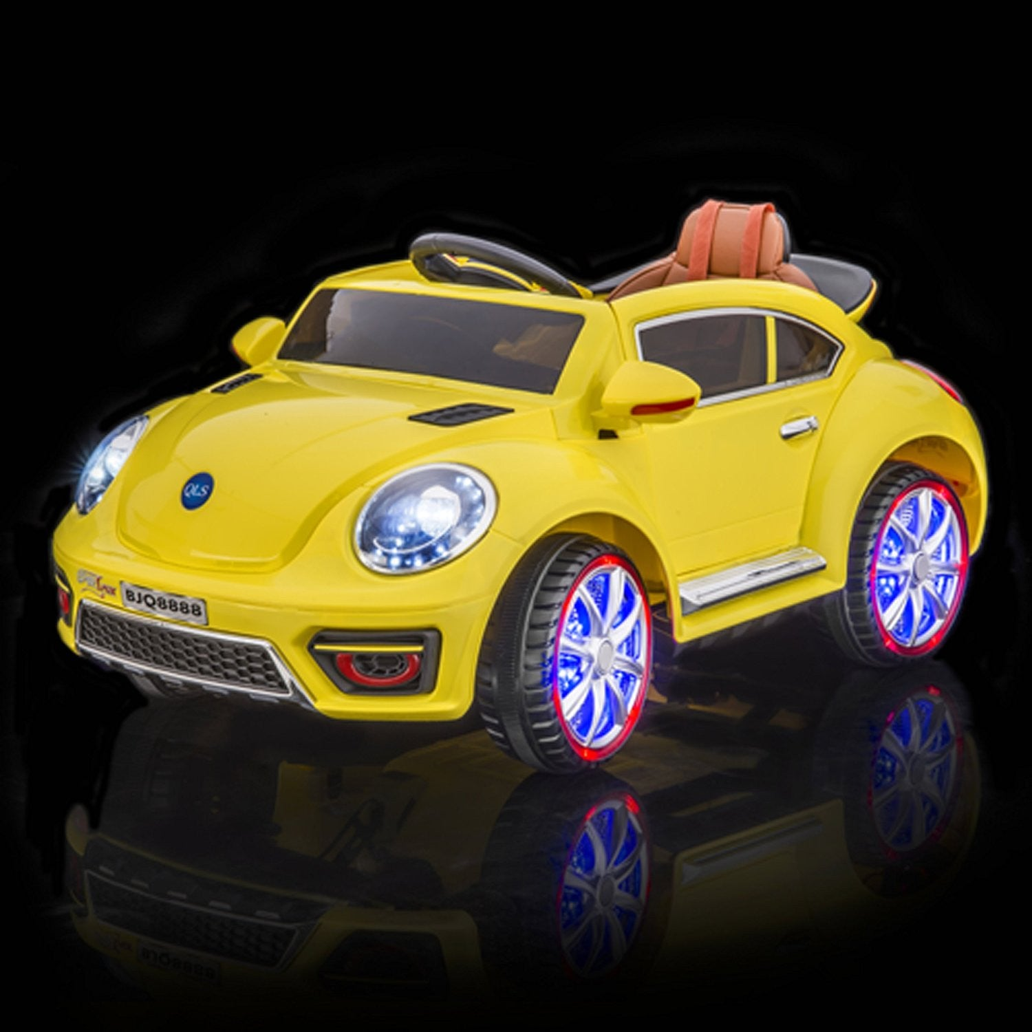Volkswagen Beetle Style Remote Control Ride On Car