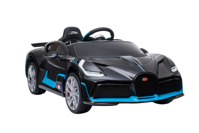Bugatti Divo Remote Control Ride On Race Car With Rubber Tires