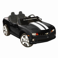 Chevrolet Camaro 2 Seat Ride On Sports Car in Black