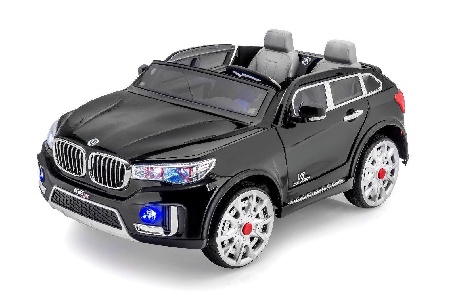 luxury x style 2 seat remote control ride on car