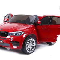 Toddler two seat BMW X6 M with remote control