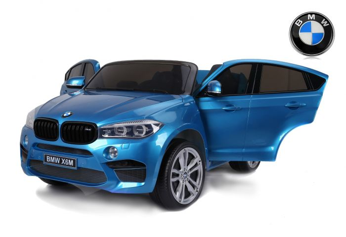 blue Toddler two seat BMW X6 M with remote control