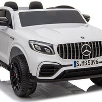 GLC63S Two Seat Remote Control Ride On Car in White