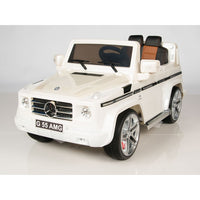 Mercedes-Benz Big Remote Control Electric Ride On G55 AMG G Wagon For Kids W/Rubber Tires
