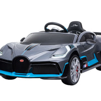 Car Tots Bugatti Divo Ride On Car with Parental Remote Control