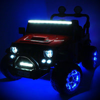 Toddler Remote Control 12V Ride On 2 Seat GP With LED Lights
