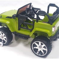 Green Toddler ride on jeep with remote control