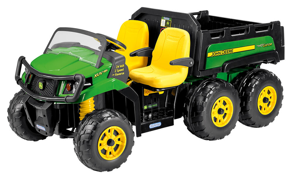 John Deere Gator 24 Volt Xuv 6x4 Ride On Tractor