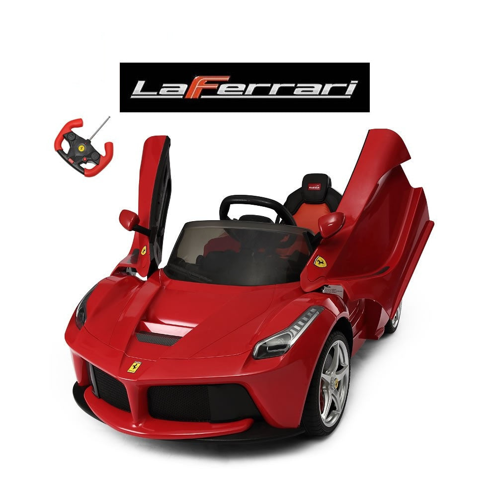 LaFerrari Remote Control Ride On Car With Vertical Doors