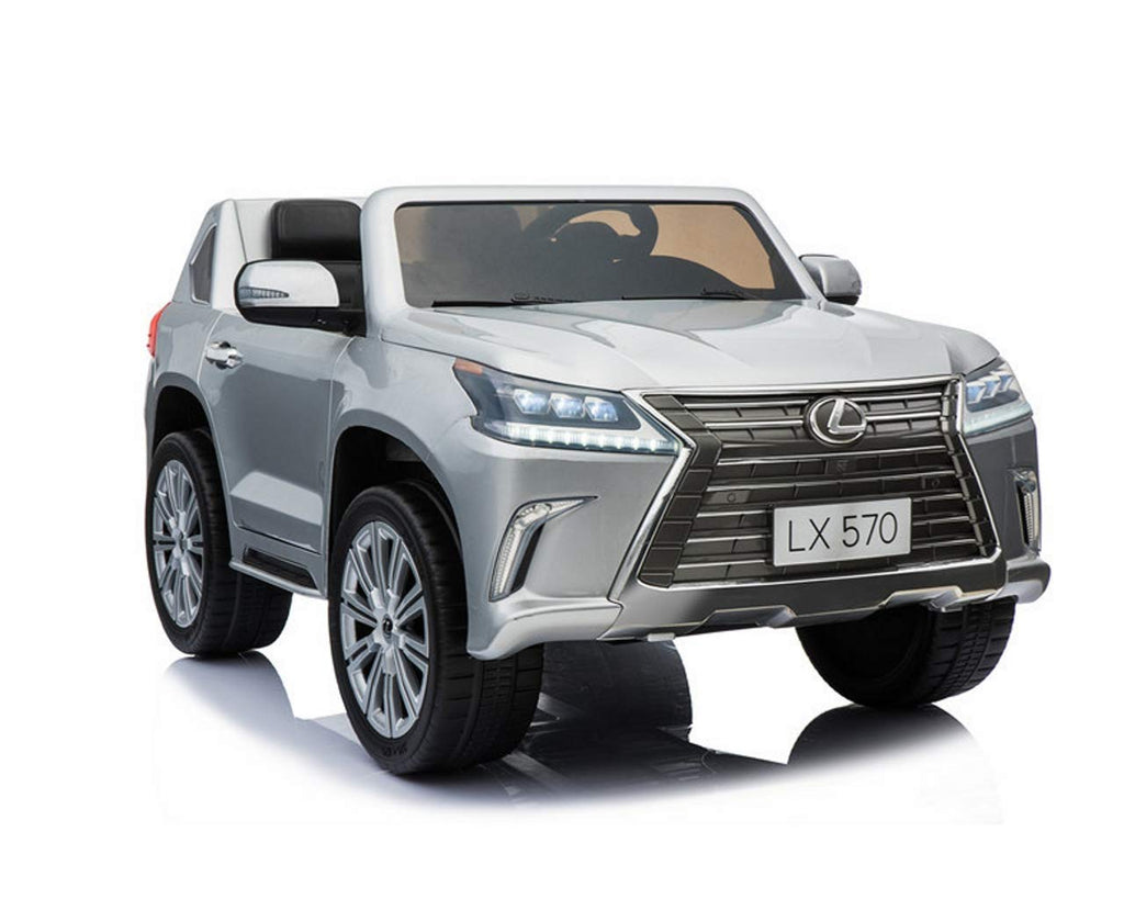 Lexus Lx 570 Toddler 4wd Remote Control Ride On Car With 2 Seats And