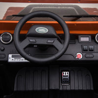 Land Rover Defender Dashboard