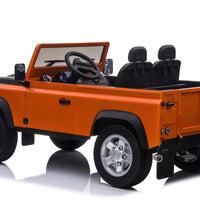 Land Rover Defender Ride On 12V Truck with 2.4G Remote Control Two Seater