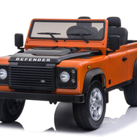 RC Toddler Land Rover Defender in Orange