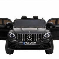 GLC 63S Two Seat Remote Control Ride On Car in Black