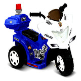 Lil Cruiser Patrol 6V Ride On Police Motorcycle W/Flashing Siren