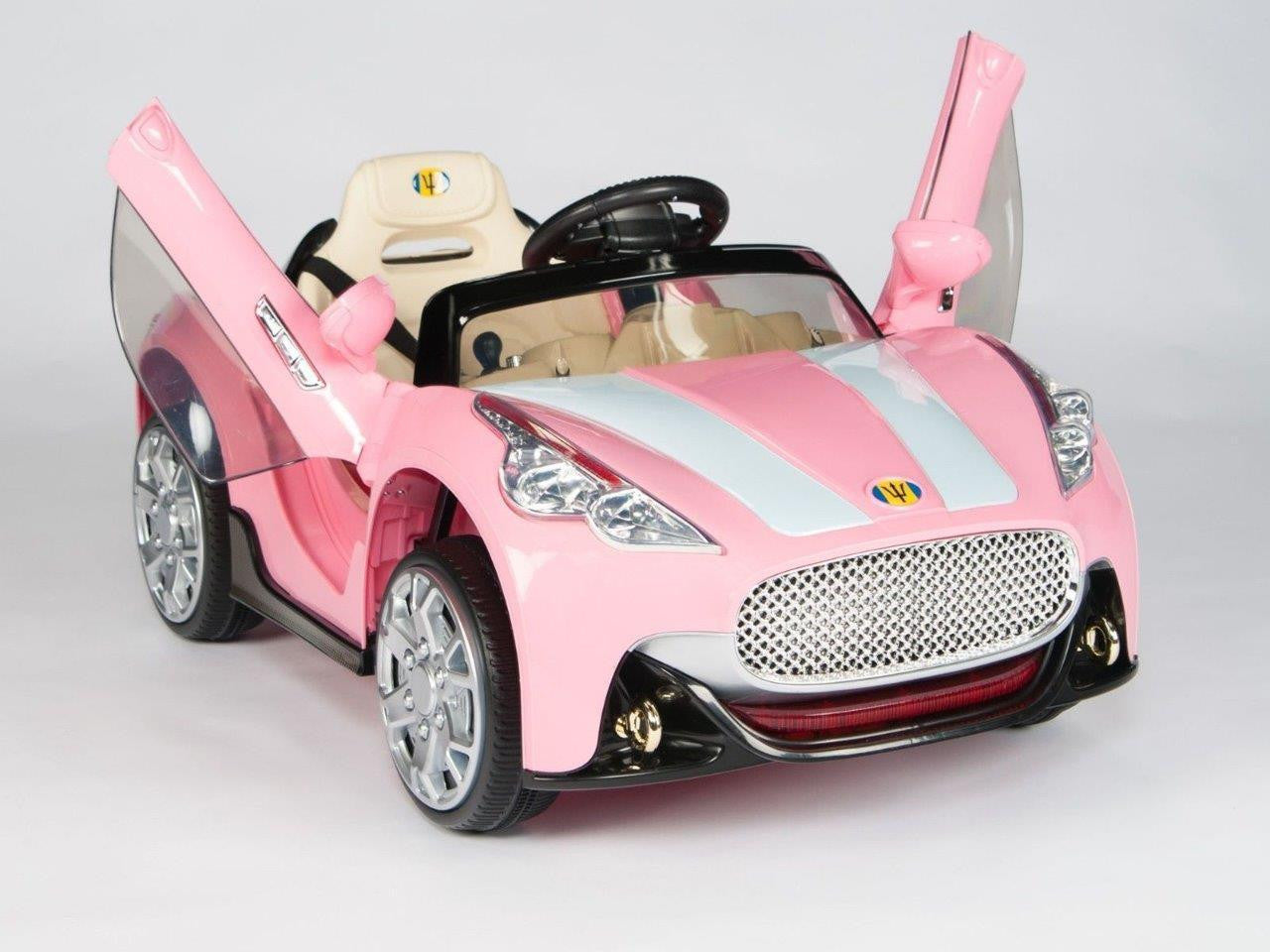 Exotic Maserati Style 12v Remote Control Ride on Coupe W/ Vertical Doors : exotic car doors - pezcame.com