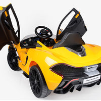 P1 McLaren Toddler Remote Control Ride On Supercar with Rubber Tires