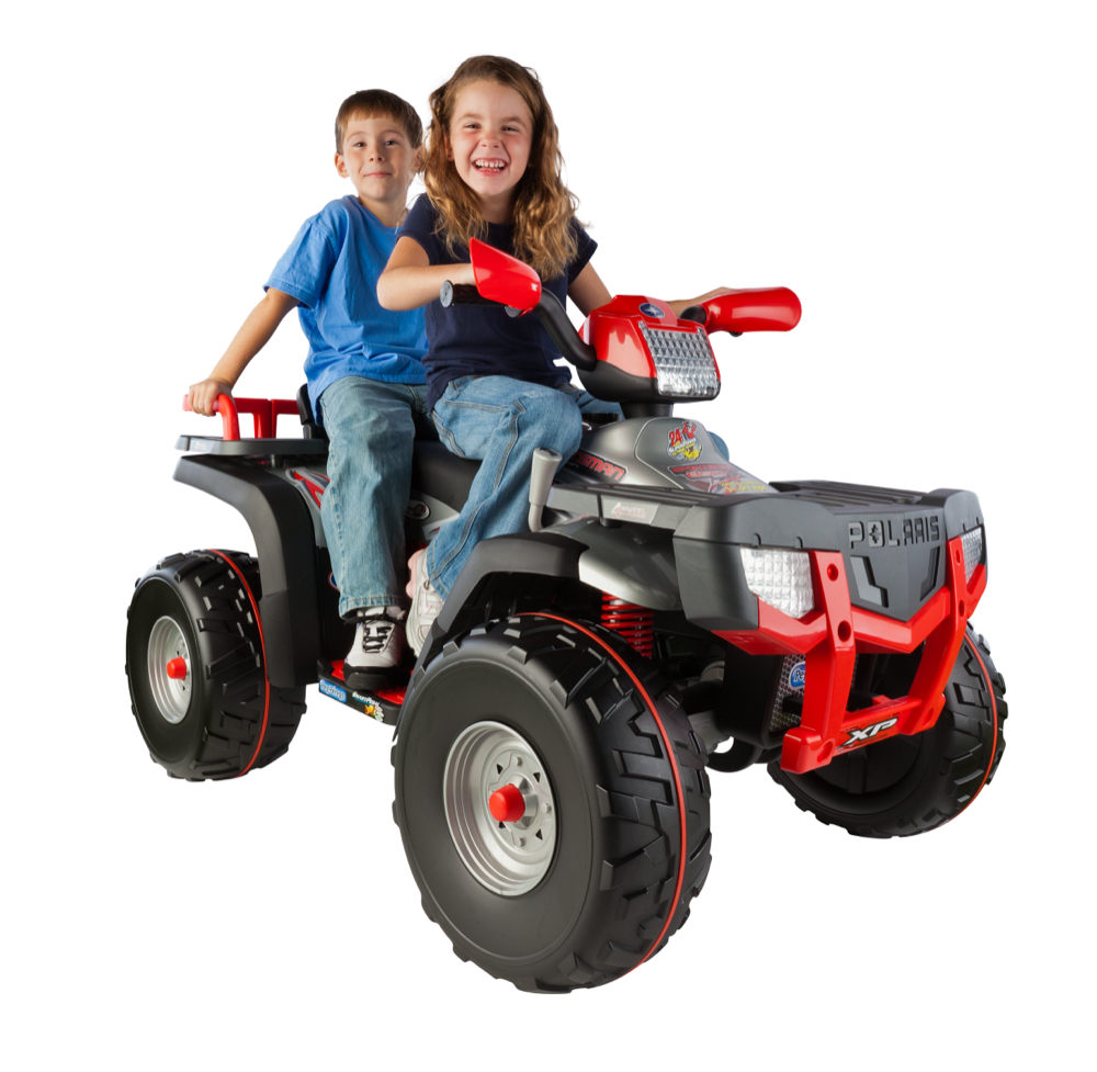 Ride On Polaris Sportsman 4 Wheeler ATV 2 Seater