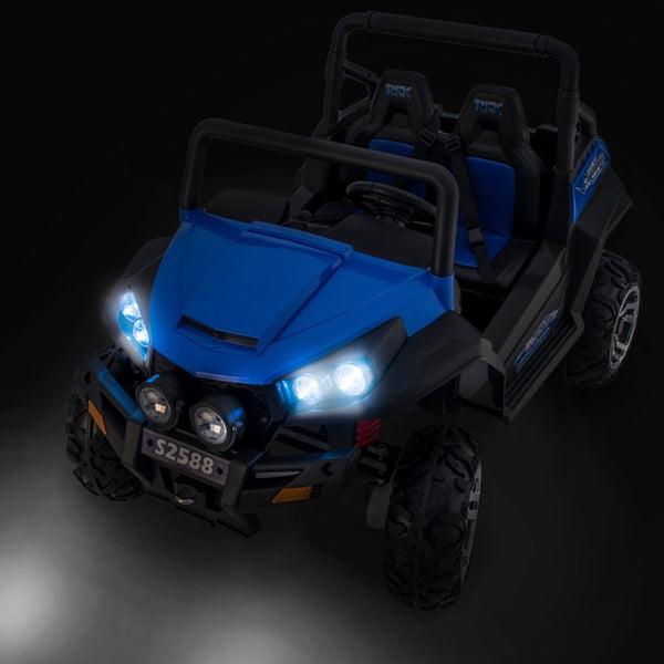 Trail Blazer 4wd Remote Control Ride On 2 Seat Side X Side