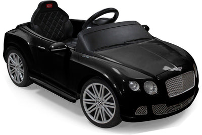Black Bentley Toddler Car with remote control