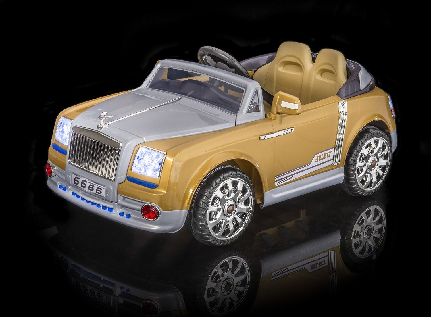 Rolls Royce Style 12V Ride On Sedan with Remote Control