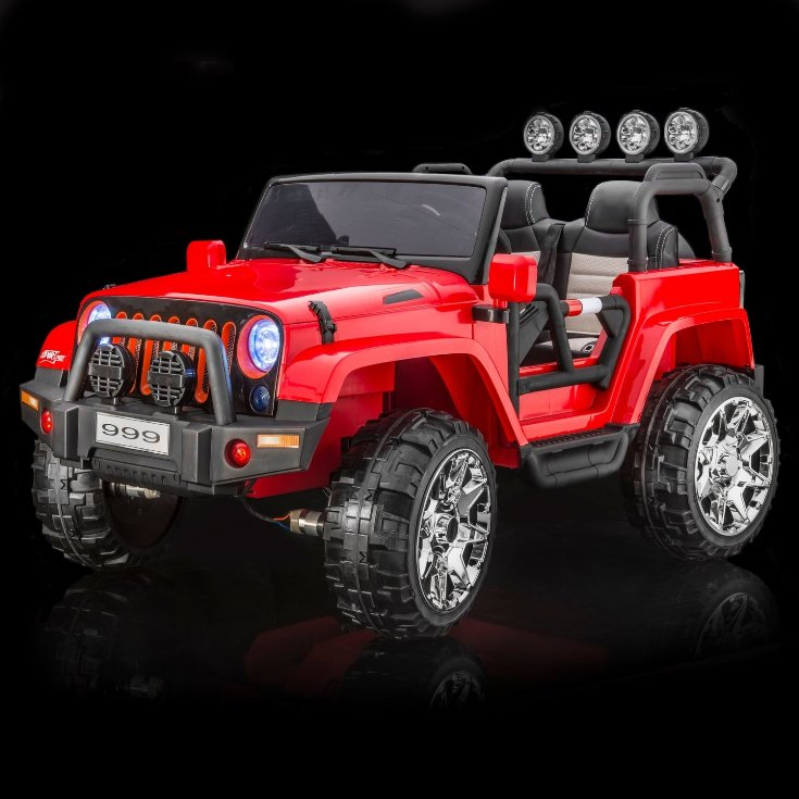 Jeep Rubicon XL Style 2 Seat Toddler Remote Control Ride On