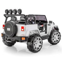 remote control ride on two seat jeep