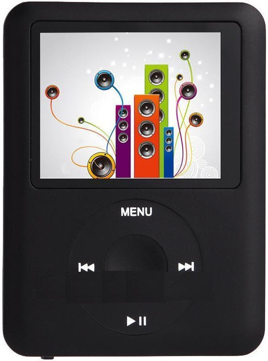 Media Player with Video, LCD Display, FM Radio and 8GB Internal Storage