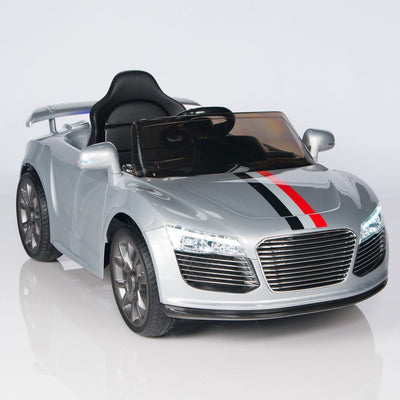 Audi R8 Style 12V Ride On Car W/Remote Control (RC), MP3 Port and Rubber Tires