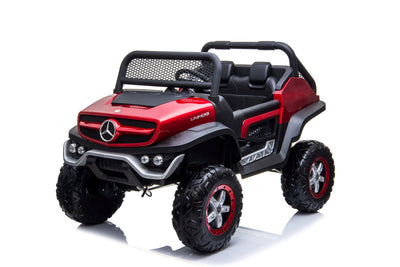 RC Mercedes Toddler Unimog two seat ride on UTV