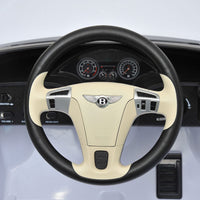 dashboard of Bentley Toddler Car with remote control
