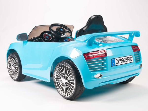 Remote Control Audi R8 Style Ride On Car W 12v Motors