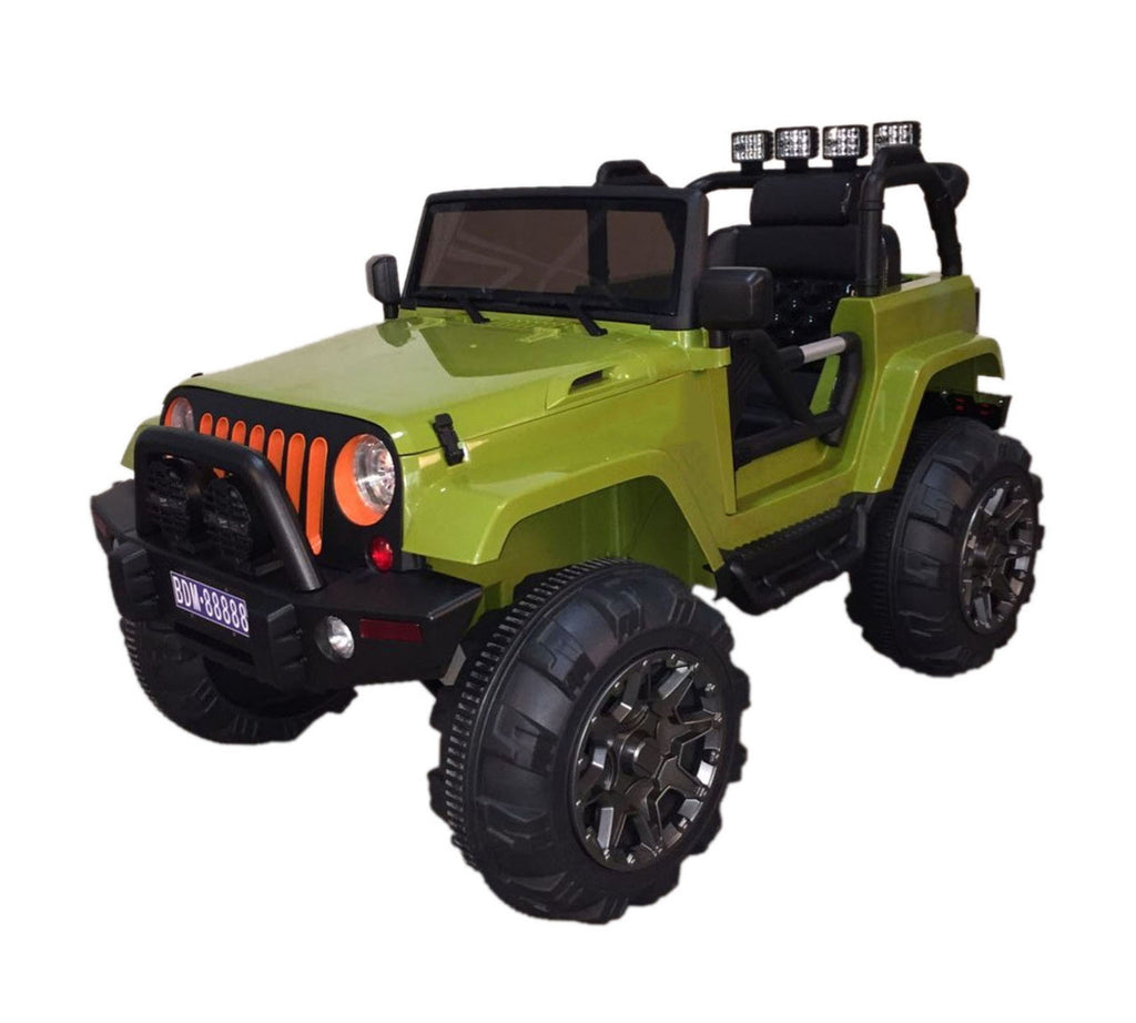 Wrangler Style Lifted Ride On Truck with 2.4G Remote Control